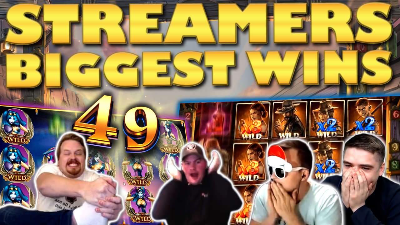 Watch the biggest casino streamer wins for week 49 2019