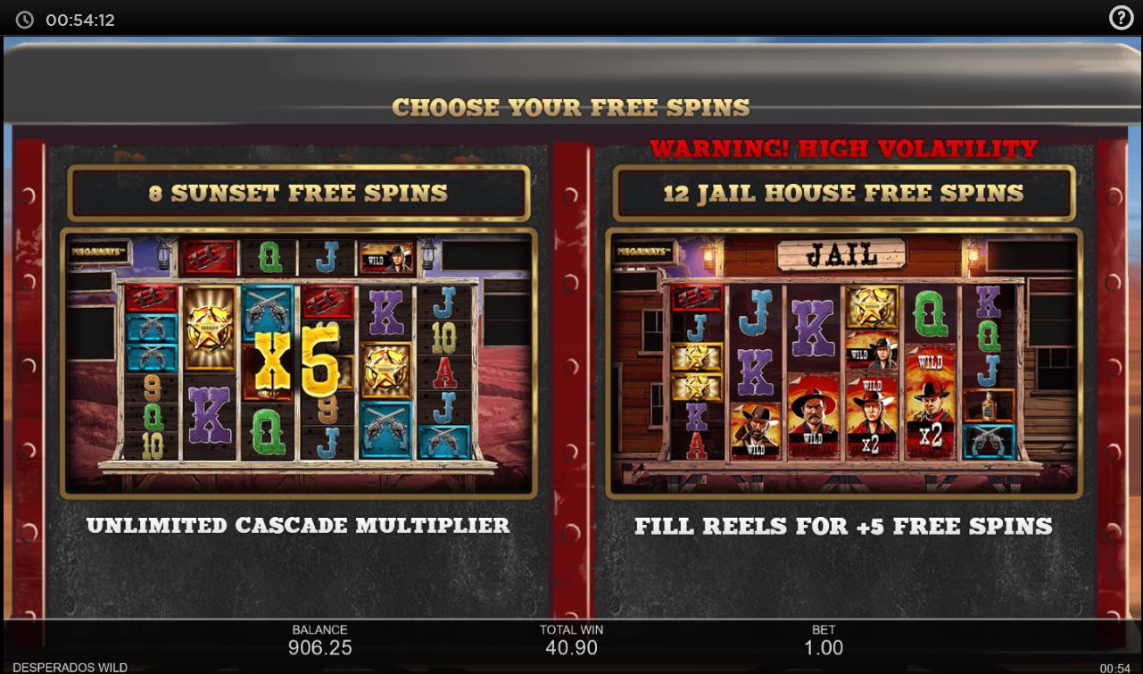 Desperados_Wild_Megaways_Choose_Freespins