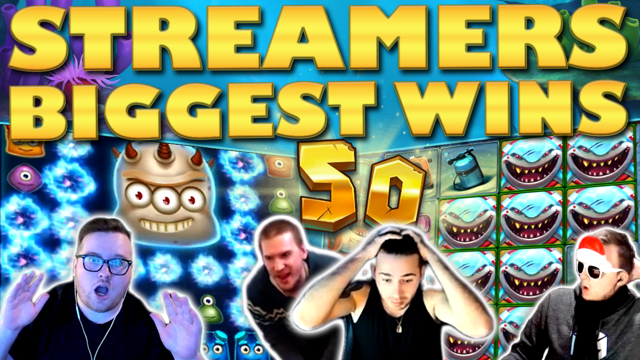 Watch the biggest casino streamer wins for week 50 2019