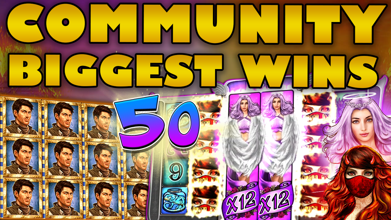 Watch the biggest Casino Streamer Community wins for week 50 2019