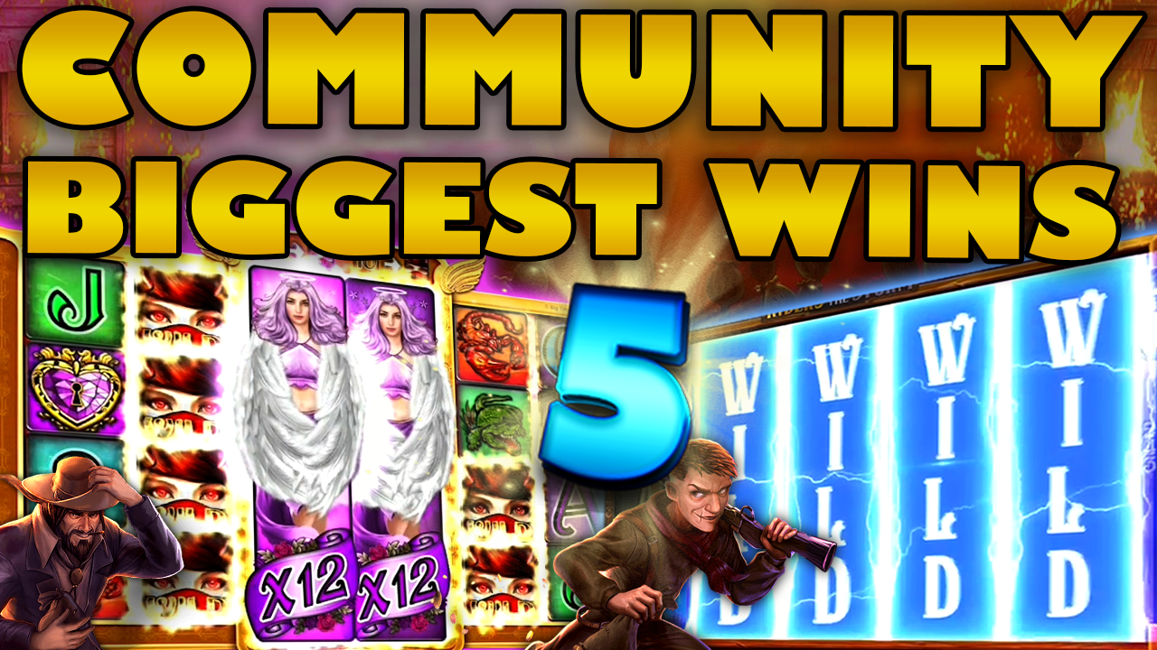 Watch the biggest Casino Streamer Community wins for week 5 2020