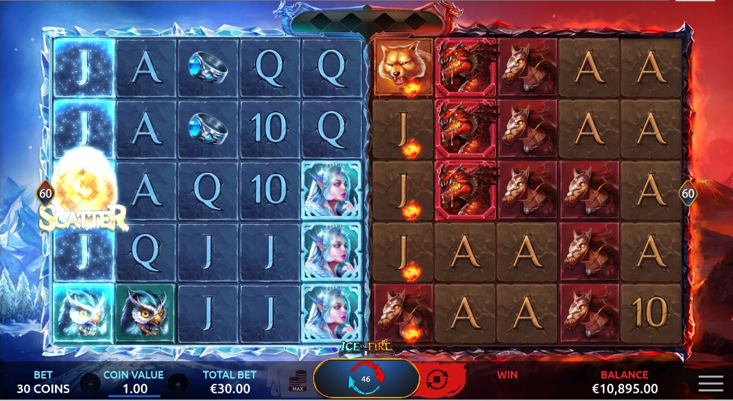 slots-ice-and-fire-slot-yggdrasil-reels-main-game