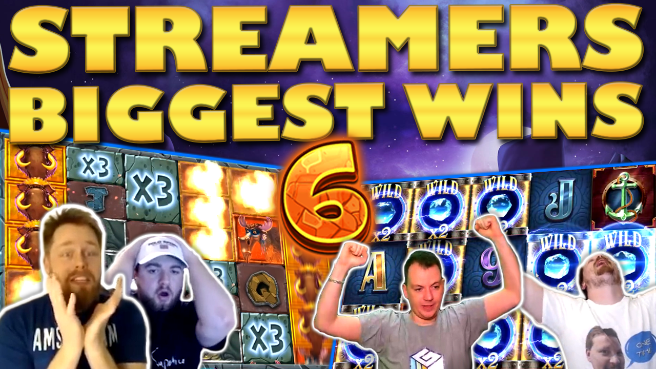 Watch the biggest casino streamer wins for week 6 2020