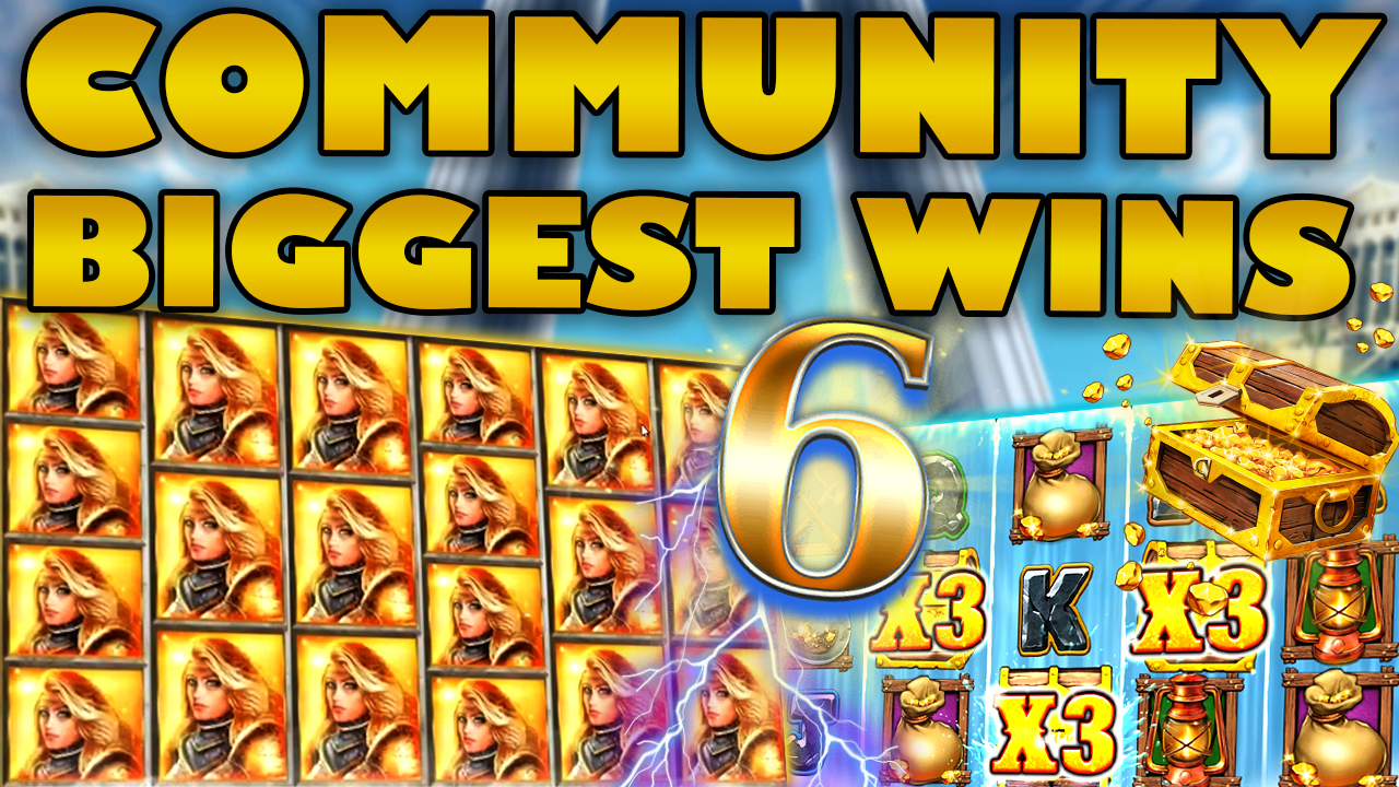 Watch the biggest Casino Streamer Community wins for week 6 2020