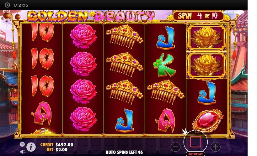 slots-golden-beauty-slot-pragmatic-reels-main-game