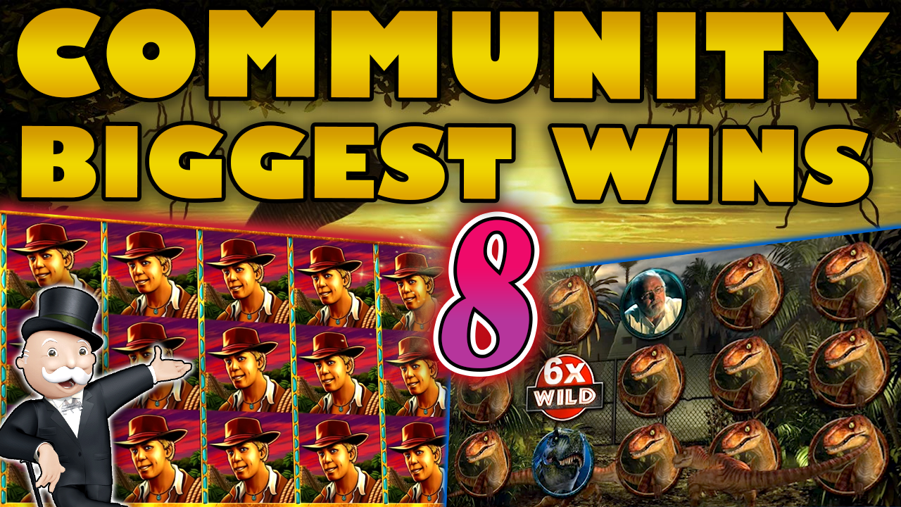 Watch the biggest Casino Streamer Community wins for week 8 2020