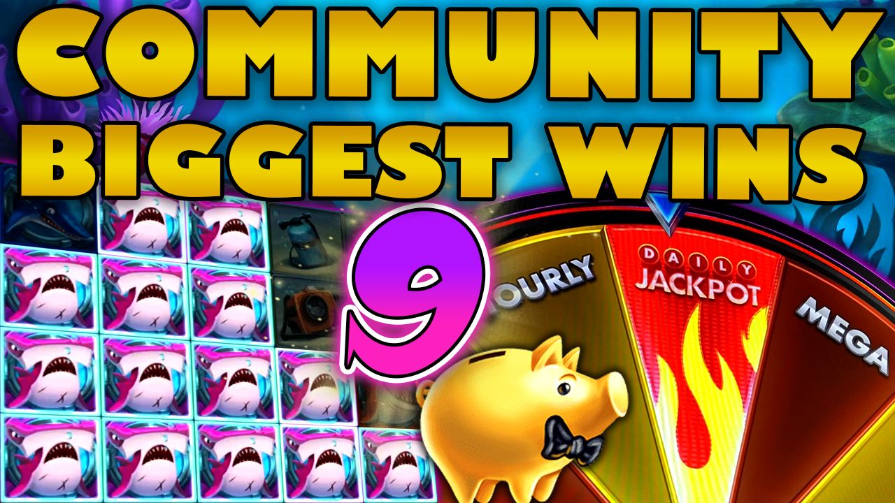 Watch the biggest Casino Streamer Community wins for week 9 2020