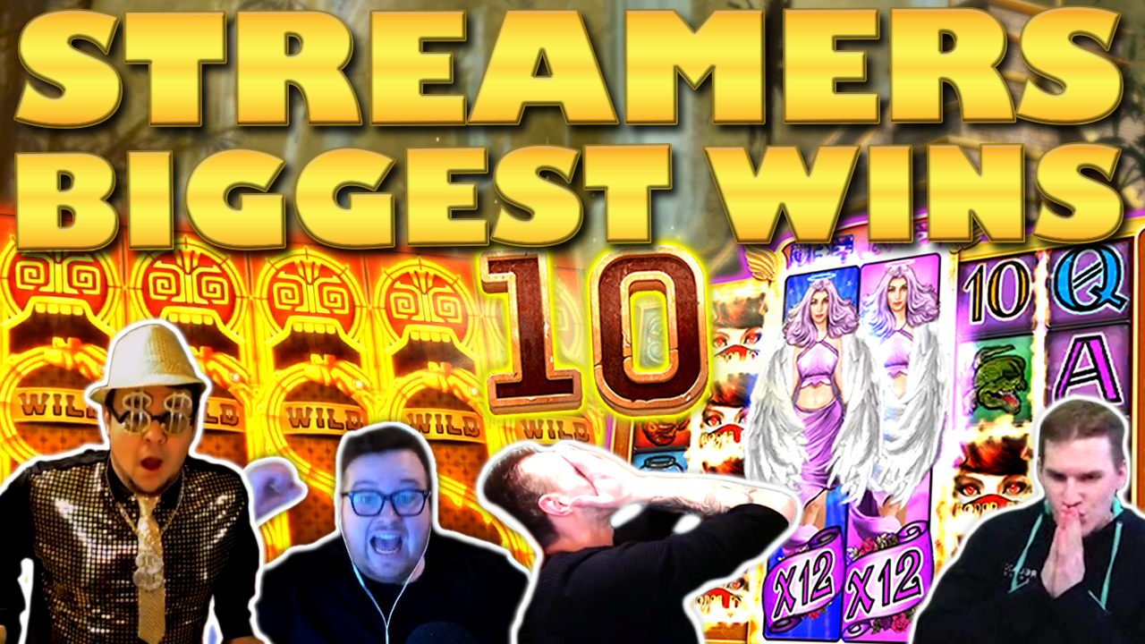 Watch the biggest casino streamer wins for week 10 2020