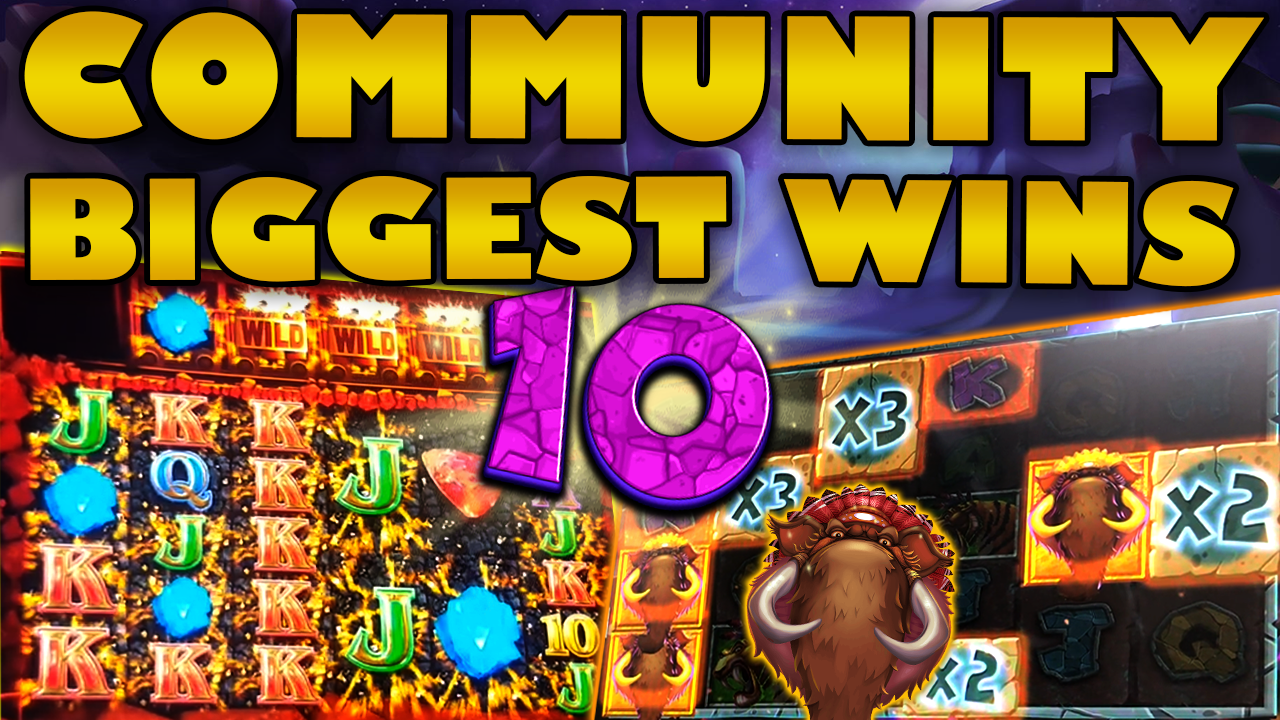 Watch the biggest Casino Streamer Community wins for week 10 2020