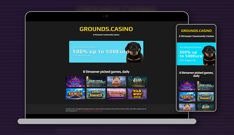 CasinoGrounds Presents Grounds Casino