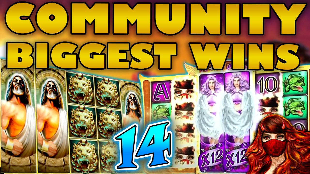 Watch the biggest Casino Streamer Community wins for week 14 2020