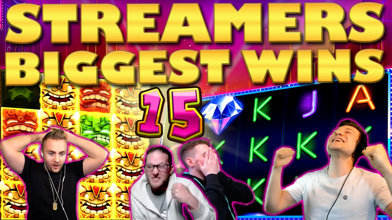 Watch the biggest casino streamer wins for week 15 2020