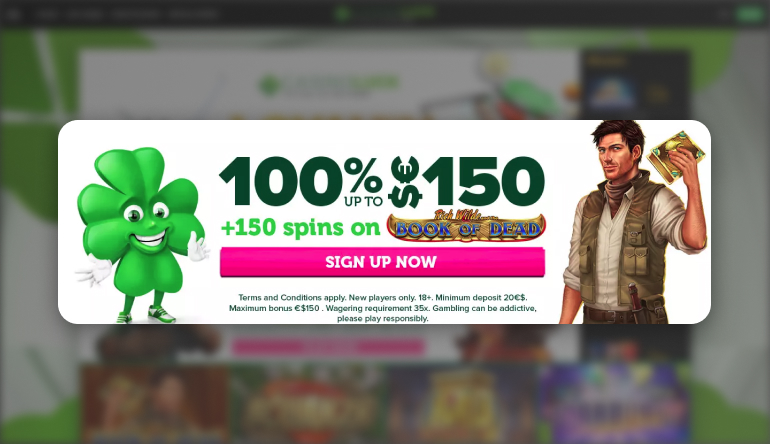 Casino Luck Welcome Offer