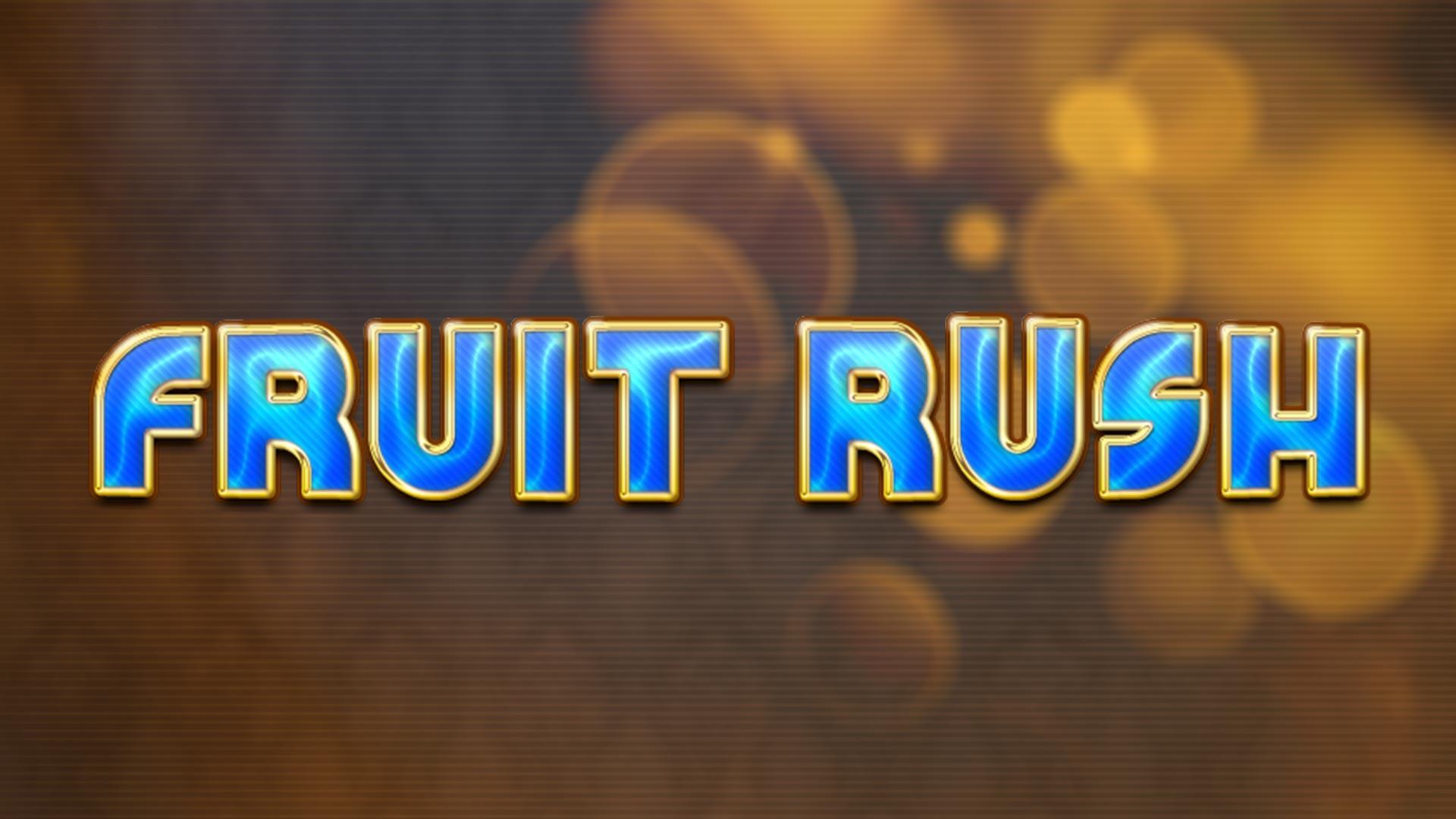Fruit Rush Logo