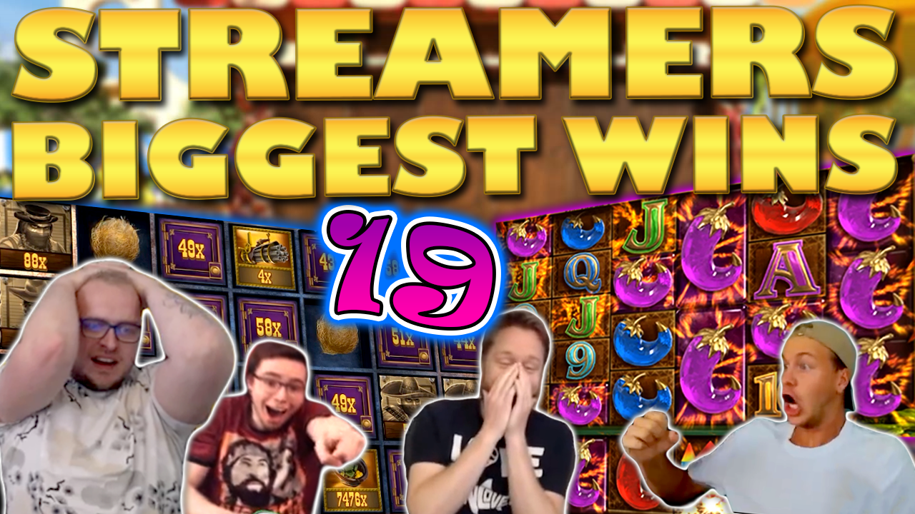 Watch the biggest casino streamer wins for week 19 2020
