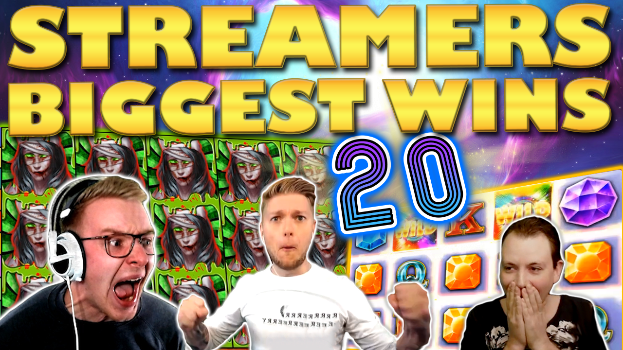 Watch the biggest casino streamer wins for week 20 2020