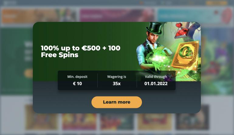 Boss Casino Bonus