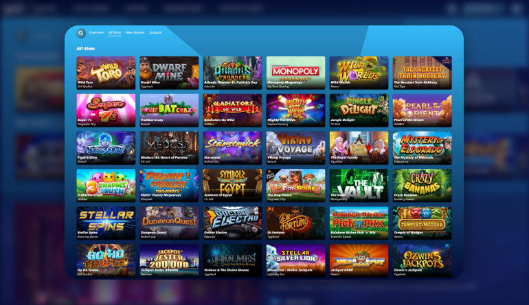 Types of Games available at SuperNopea Casino