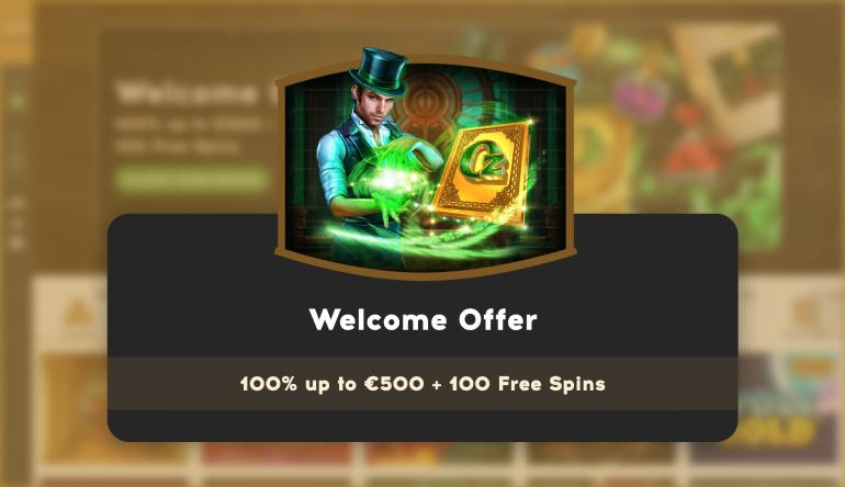 The Bootlegger Casino Welcome Offer