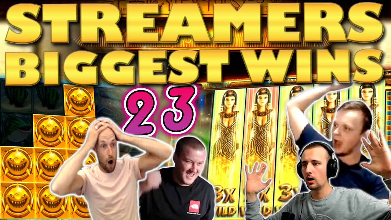 Watch the biggest casino streamer wins for week 23 2020