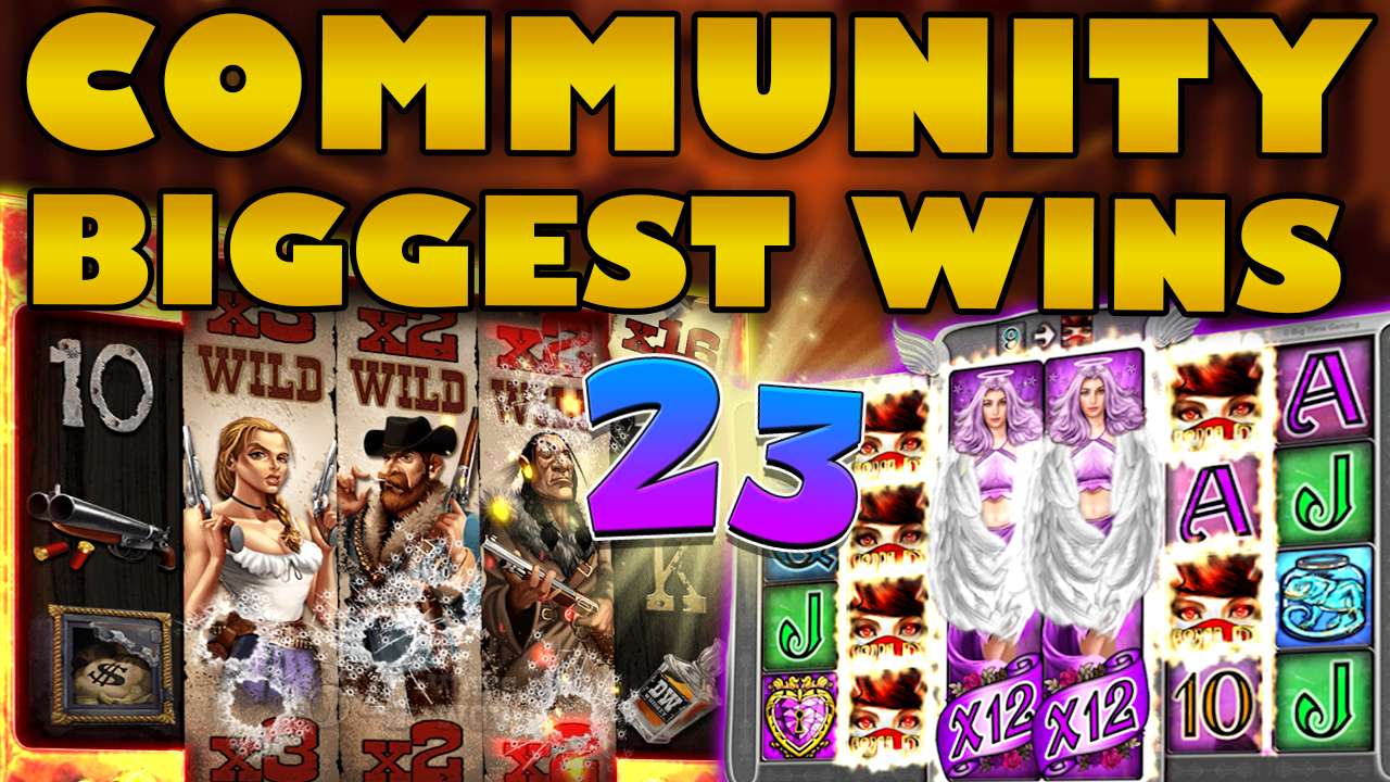 Watch the biggest Casino Streamer Community wins for week 23 2020