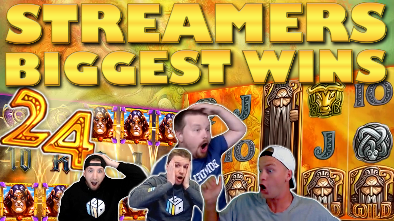 Watch the biggest casino streamer wins for week 24 2020