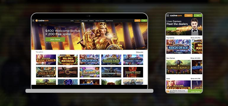 casino.com devices