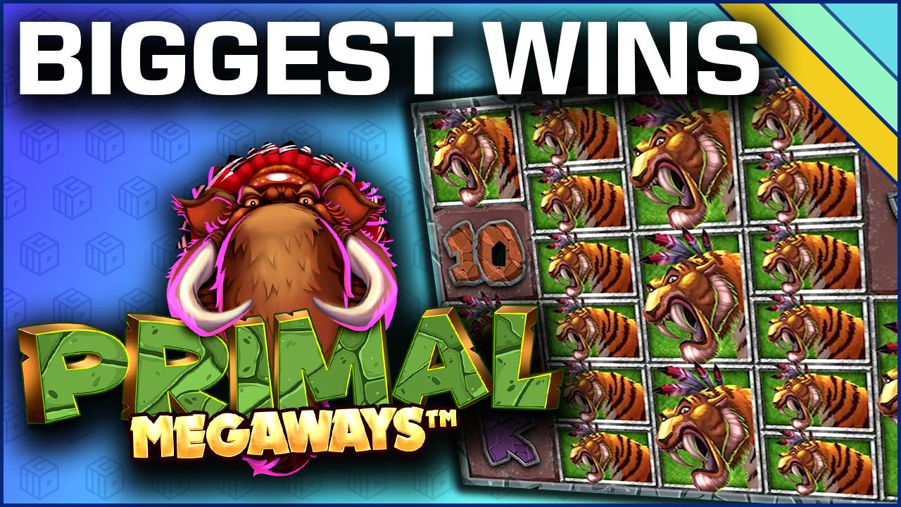 top 10 wins on primal megaways