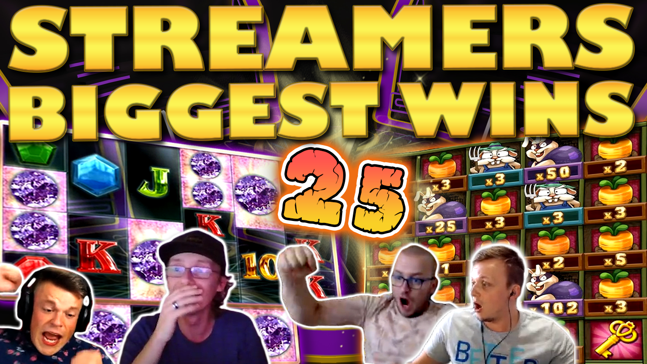 Watch the biggest casino streamer wins for week 25 2020