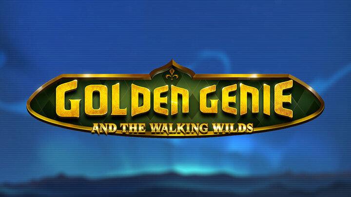 logo Golden Genie and the walking wilds