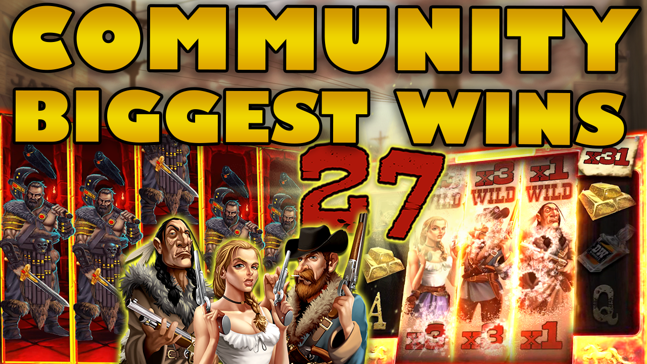 Watch the biggest Casino Streamer Community wins for week 27 2020
