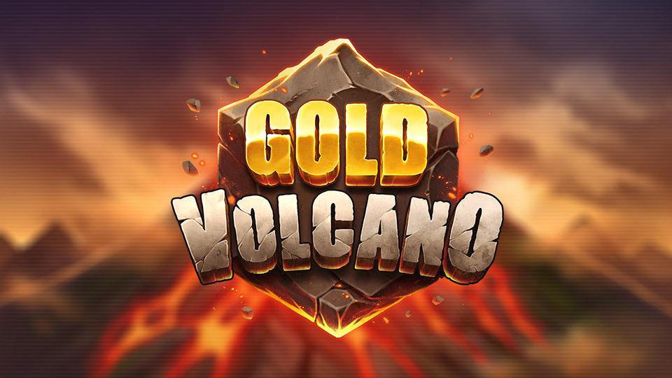 gold volcano logo