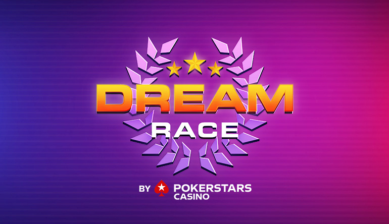 PokerStars Casino Dream Race on Casinogrounds! - 10 weeks of weekly Giveaways | Check how to get them drops here!