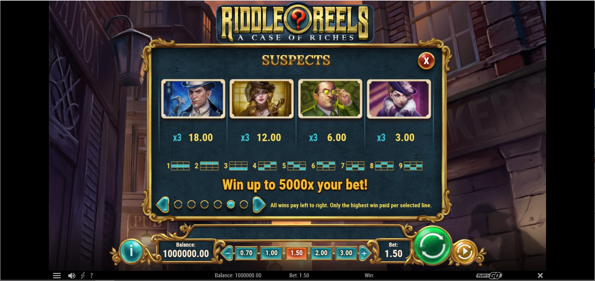 Riddle Reels Splash Screen showing