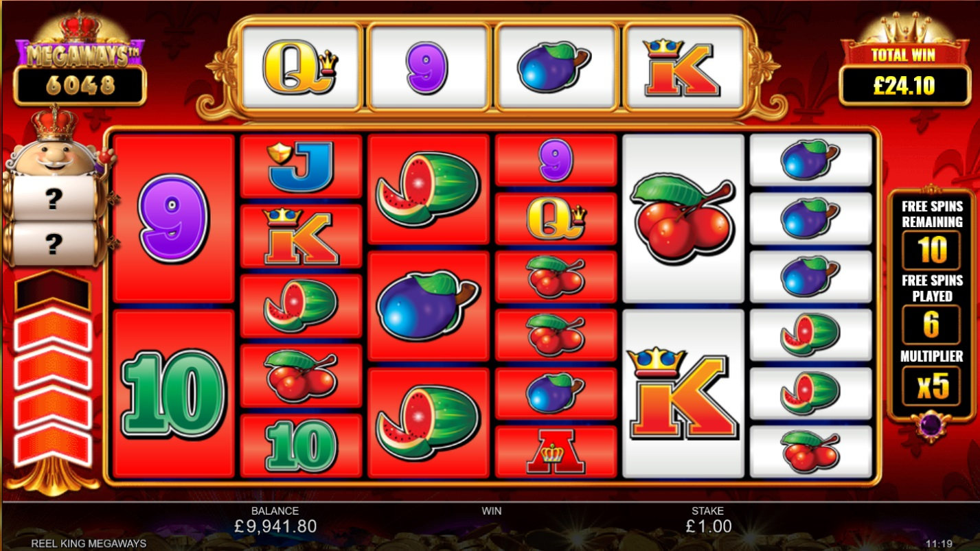 How to win big in Reel King Megaways - Free Spins