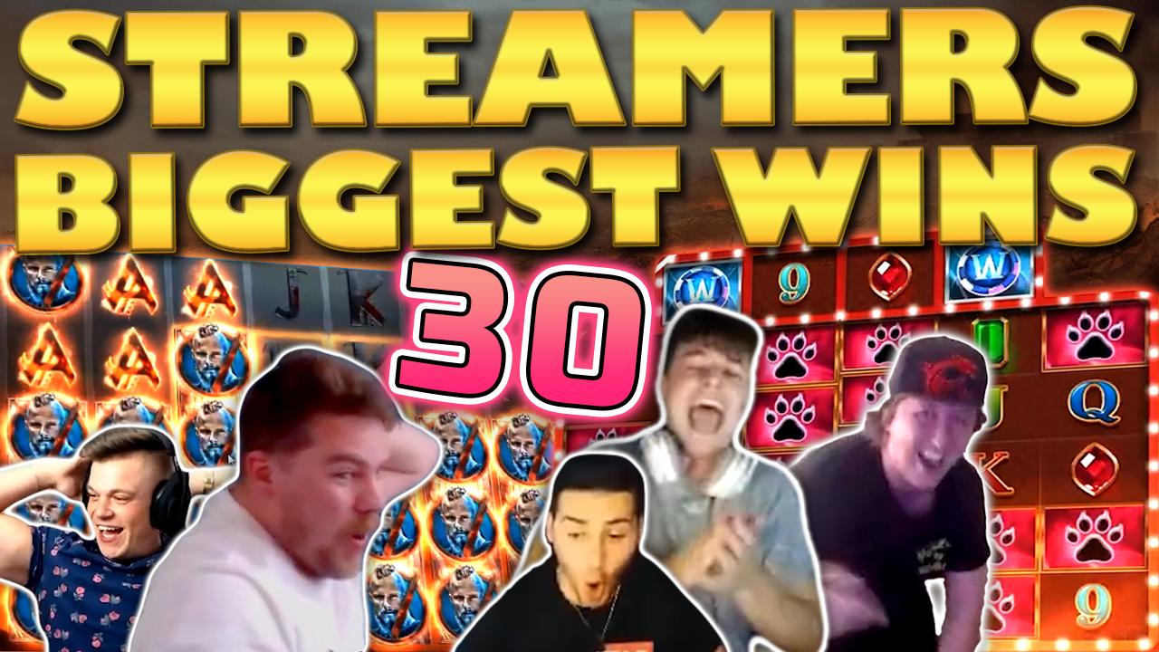 Watch the biggest casino streamer wins for week 30 2020