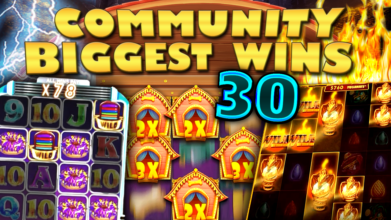 Watch the biggest Casino Streamer Community wins for week 30 2020