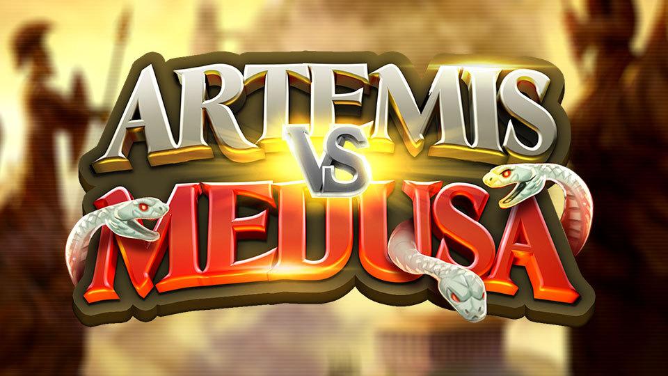 Artemis vs Medusa logo