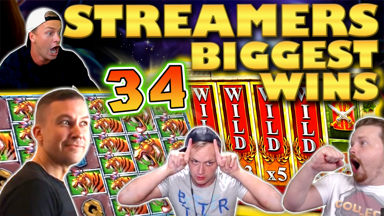 Watch the biggest casino streamer wins for week 34 2020