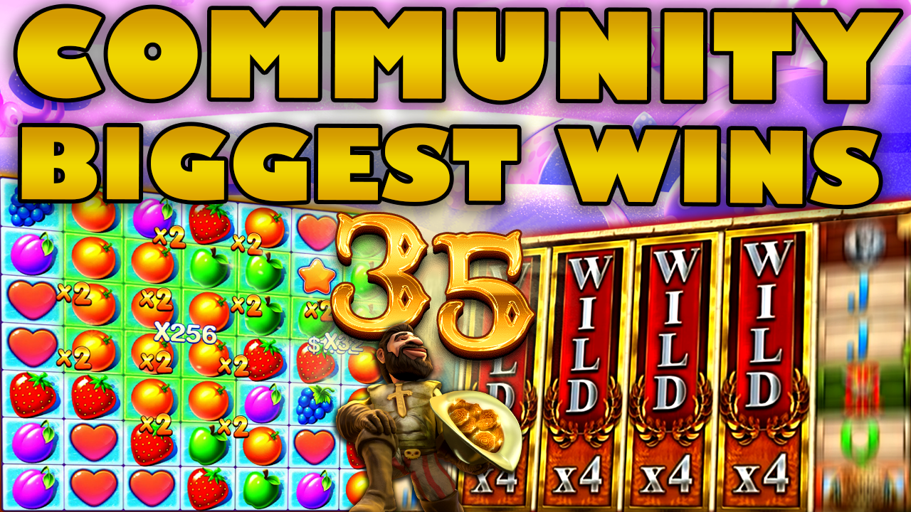 Watch the biggest Casino Streamer Community wins for week 35 2020