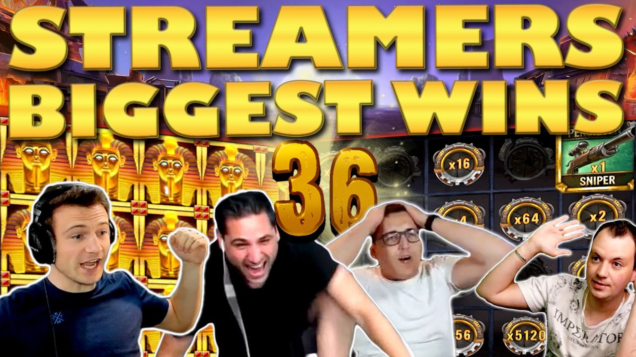 Watch the biggest casino streamer wins for week 36 2020