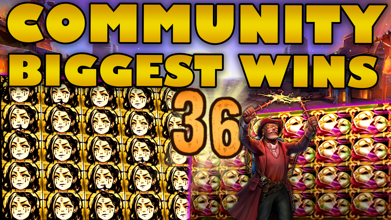Watch the biggest Casino Streamer Community wins for week 36 2020