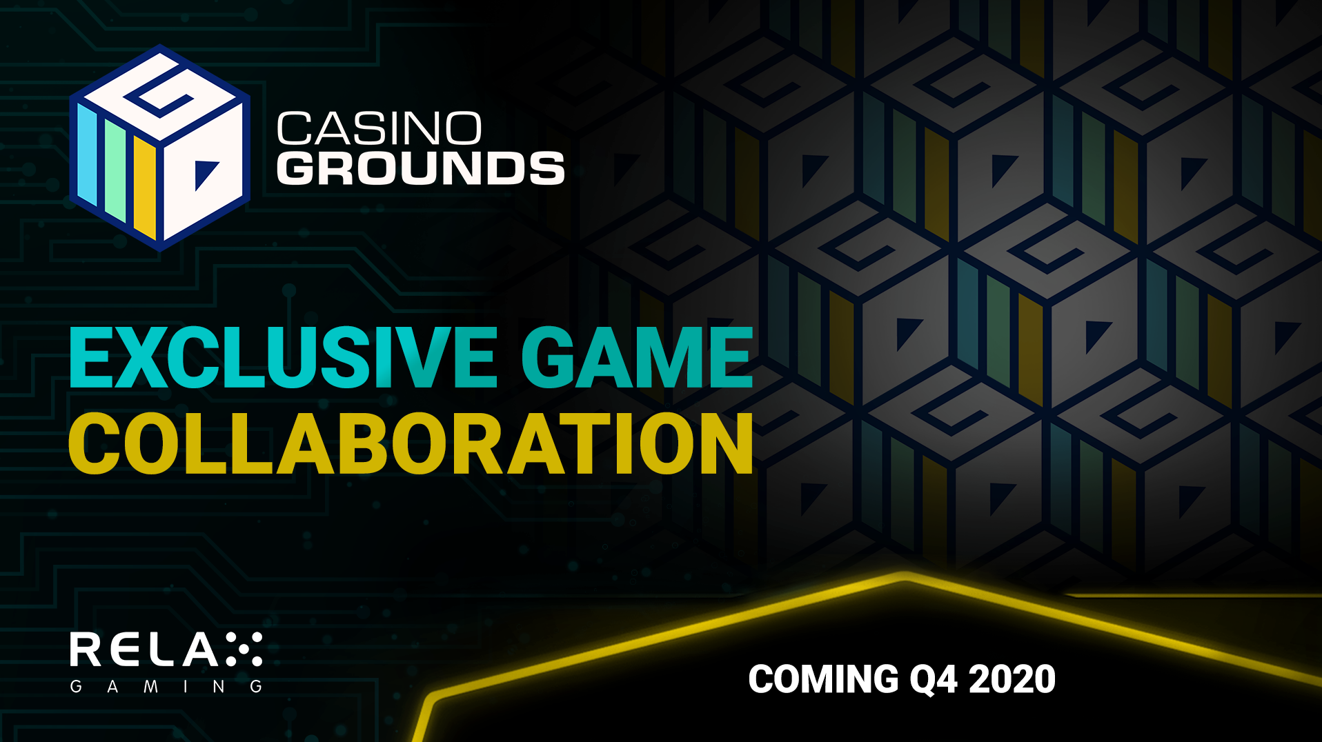 Exclusive game collaboration - relax gaming and CasinoGrounds