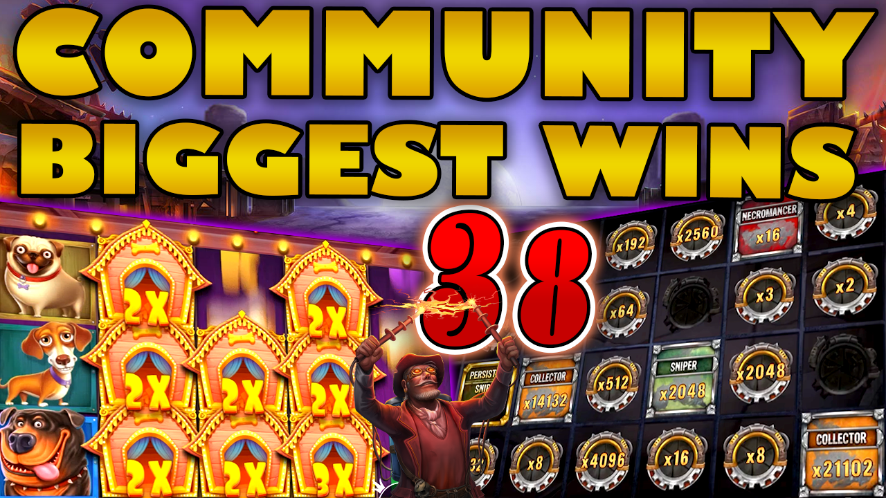 Watch the biggest Casino Streamer Community wins for week 38 2020