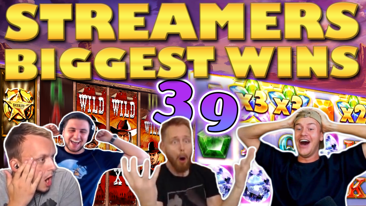 Watch the biggest casino streamer wins for week 39 2020