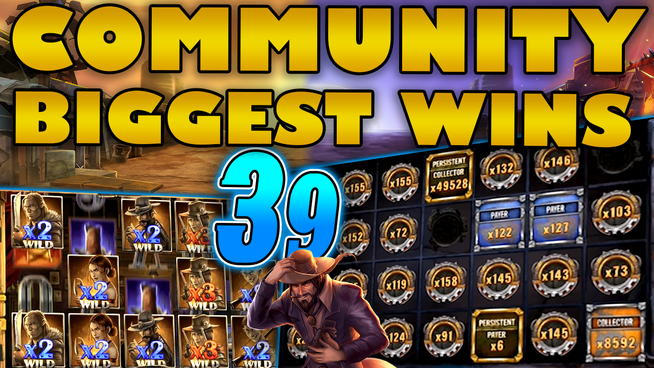 Watch the biggest Casino Streamer Community wins for week 39 2020