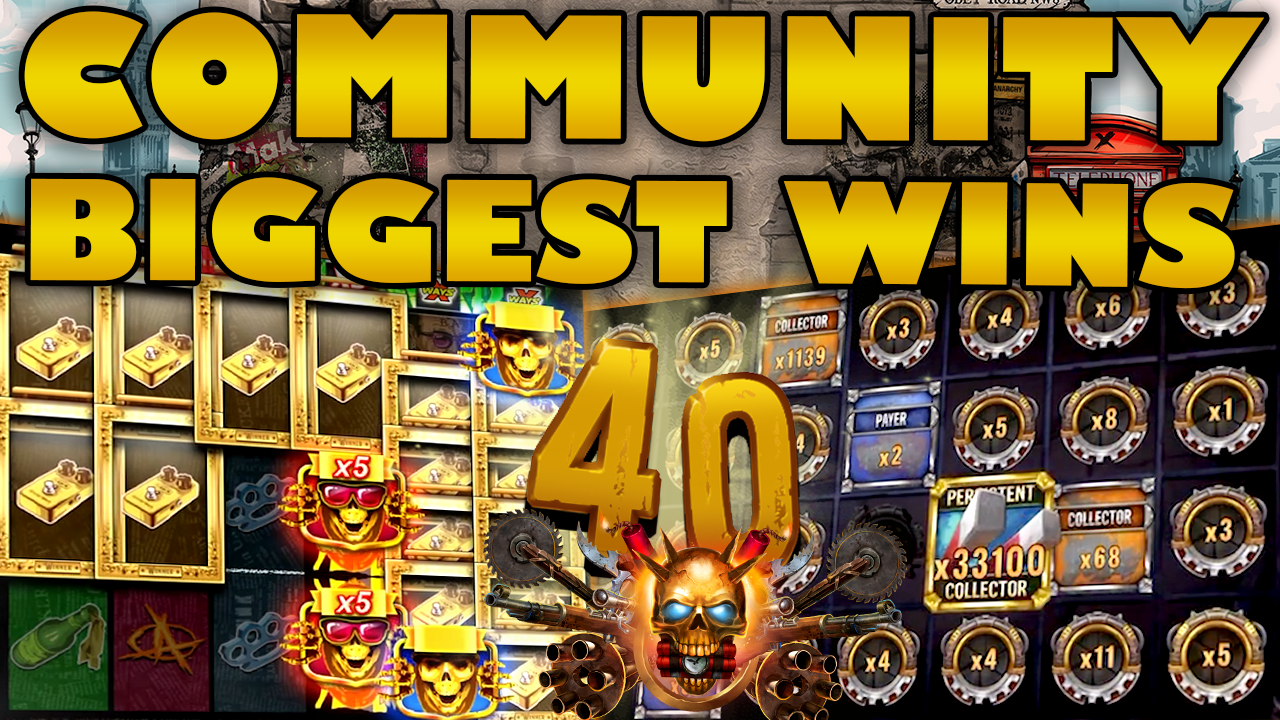 Watch the biggest Casino Streamer Community wins for week 40 2020