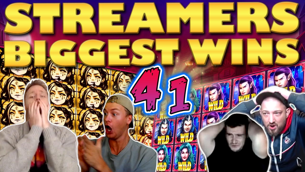 Watch the biggest Casino Streamer Community wins for week 41 2020