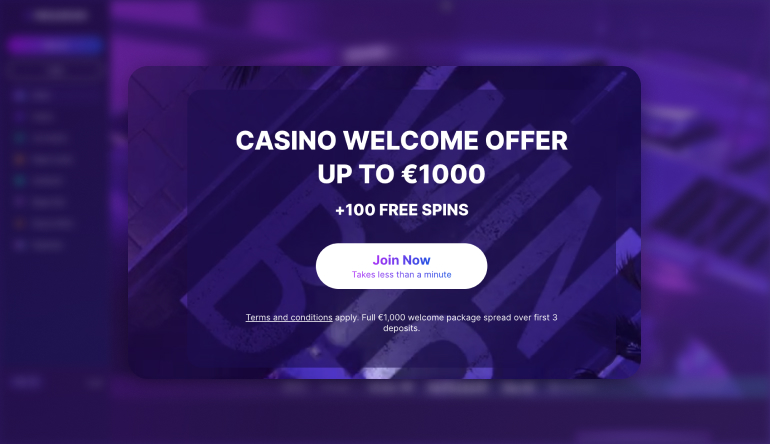 Megalotto Casino bonus