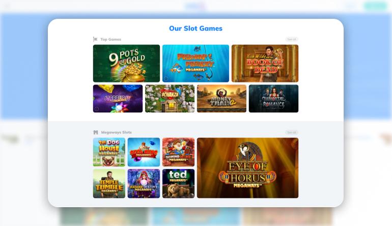 Mr q games lobby
